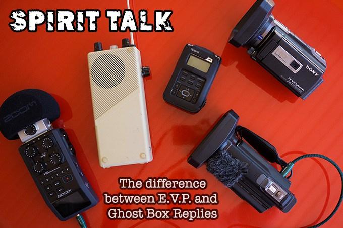 Electronic Voice Phenomena EVP & Paranormal Investigations  - P-SB11
